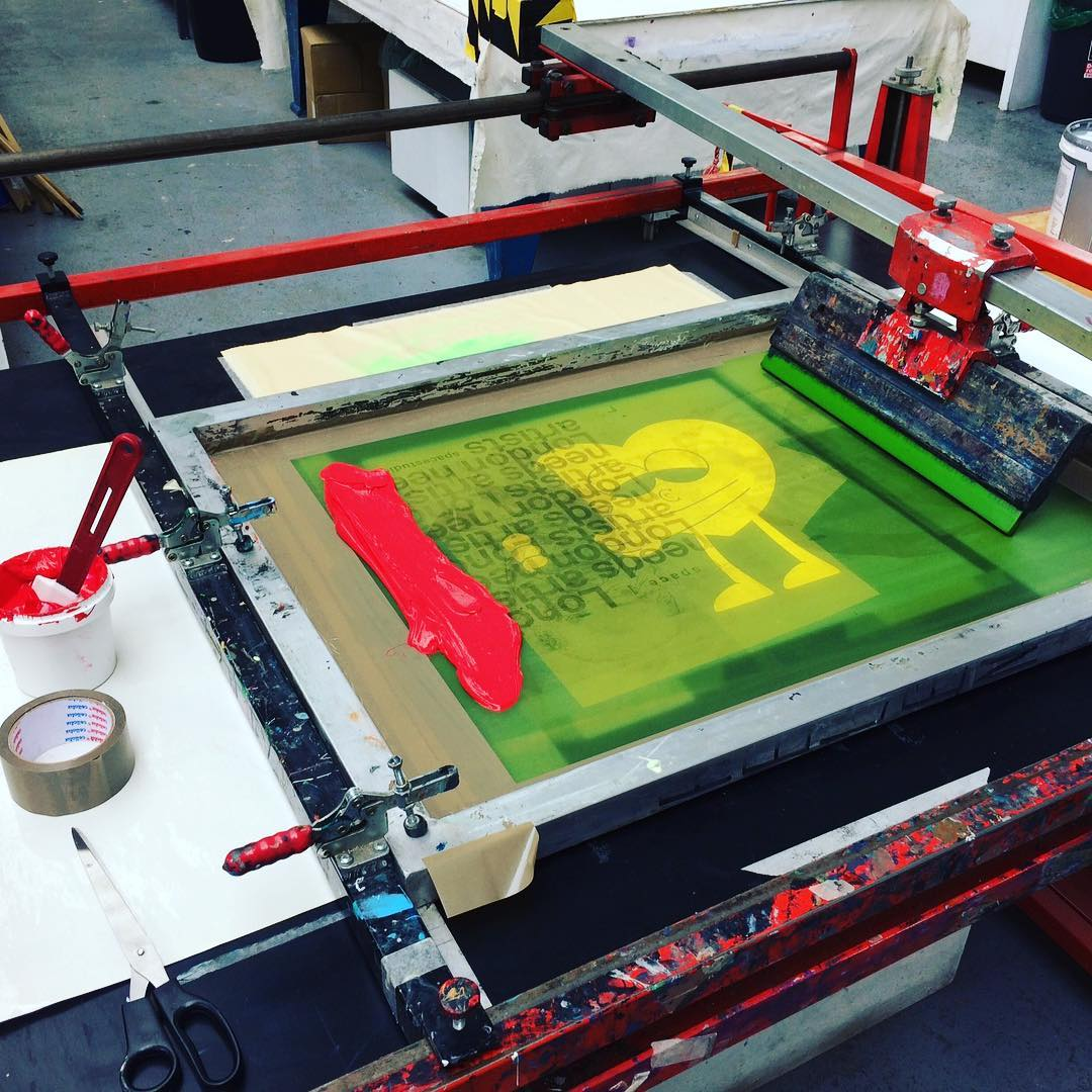screenprint printing boom